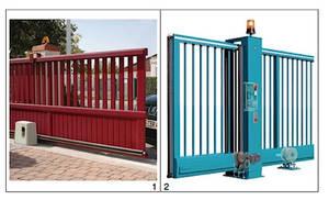 Schema electrique portails et garages automatiques for Portail electrique solaire